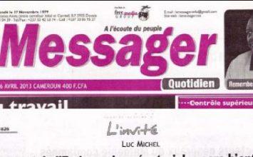 Le quotidien le Messager