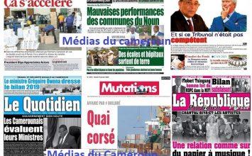 REVUE DE LA PRESSE DU 07/06/2020