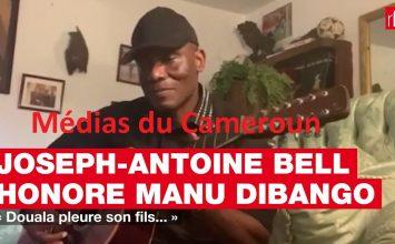 Joseph-Antoine Bell rend hommage à Manu Dibango