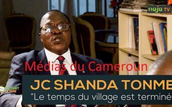 SHANDA TONME: LE TEMPS DU VILLAGE EST TERMINÉ