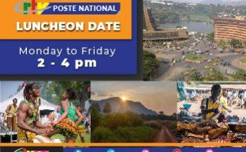 Luncheon Date sur la CRTV Poste National