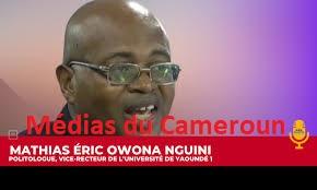 Mathias Éric OWONA NGUINI: «Ce n'est pas l'opinion qui détermine ce que je peux penser»