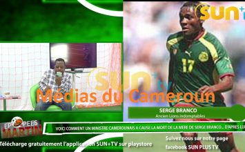 VOICI COMMENT UN «MINISTRE» CAMEROUNAIS A TUÉ LA MÈRE DE L'EX LION SERGE BRANCO 💔😭