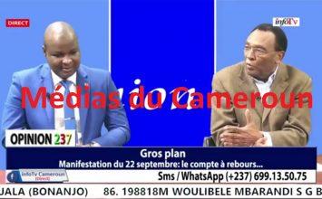 InfoTV – OPINION 237 – (REGARD EXTÉRIEUR : ÉTHIOPIE – GROS PLAN : MARCHES MRC) – 21 Septembre 2020