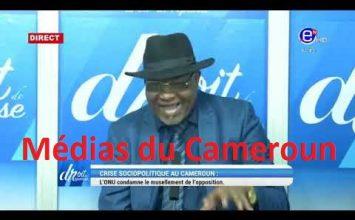 DROIT DE RÉPONSE DU DIMANCHE 18 OCTOBRE 2020 – ÉQUINOXE TV