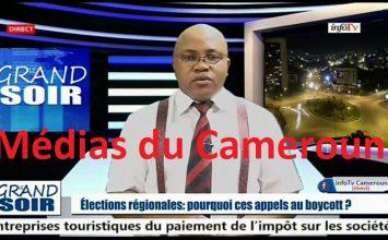 InfoTV – LE GRAND SOIR – (RENTRÉE – ÉLECTIONS RÉGIONALES/BOYCOTT – FECAFOOT/LFPC) – 05 Octobre 2020