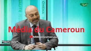 ENTRETIEN AVEC L'AMBASSADEUR D'ISRAËL AU CAMEROUN SON EXCELLENCE M. ISI YANOUKA