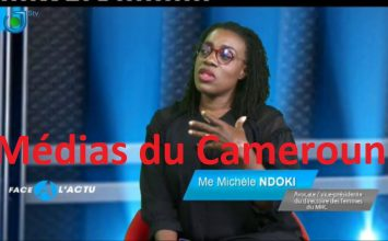 Me Michèle Ndoki est FACE À L'ACTU avec Dipita Tongo