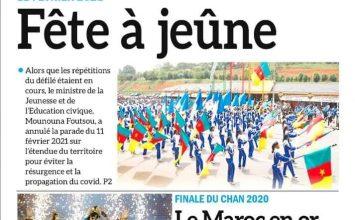 REVUE DE PRESSE DU LUNDI 08 FEVRIER 2021